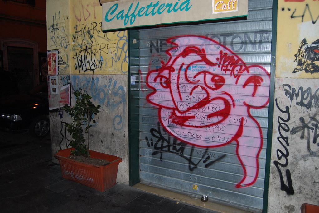 Nemo Graffiti Rome Italy.