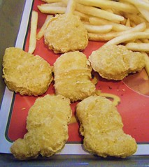 McNugget Man (LaLa83) Tags: food chicken mcdonalds fries mcnuggets