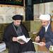 اهداء اصدارات قسم الشؤون الفكرية والثقافية في العتبة الحسينية المقدسة الي سماحة الأمين العام للعتبة العباسية المقدسة
