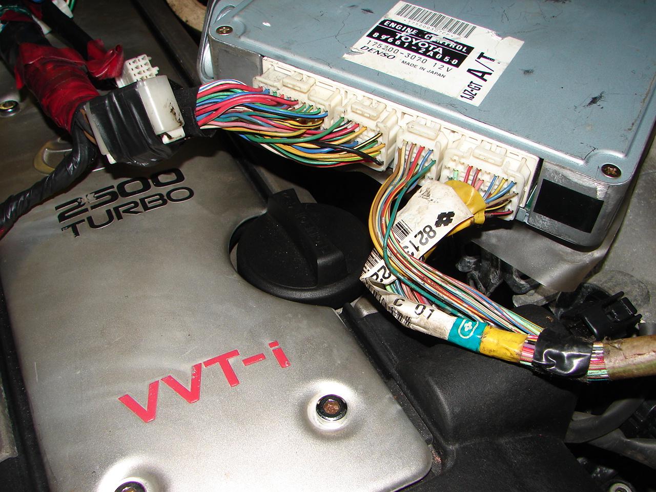 engine control toyota 1jz-g trc