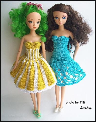 Как сшить одежду для кукол Барби своими руками из носков и чулков.