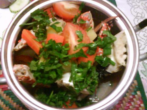Resepi Sup Ketam