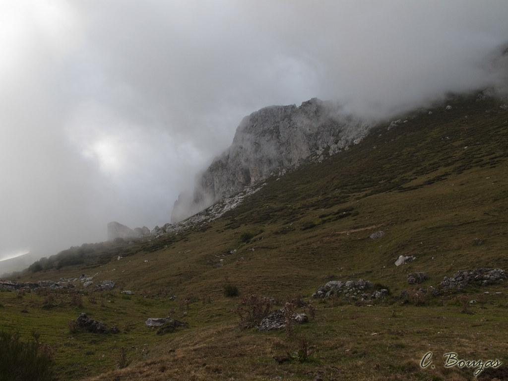Niebla al anochecer en el Puerto