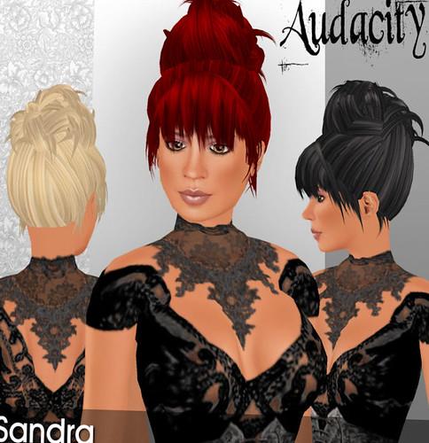 69L Wednesday Audacity Hair Sandra