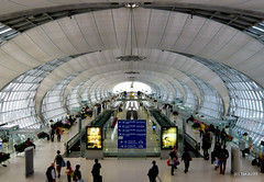 Concourse C, Suvarnabhumi Airport Thailand