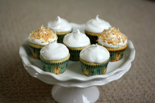 MSC Coconut Cupcakes