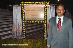 Raj Bhavan head solar project engineer and OPS India Manager of Engineering Mr. Ashok Prakash