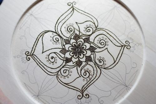 Mandala plates10016