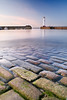 Newhaven Lighthouse (Surely Not) Tags: sea lighthouse water scotland nikon edinburgh long exposure harbour newhaven cobbles 28mmf28 d700 yourphototips thephotoproject