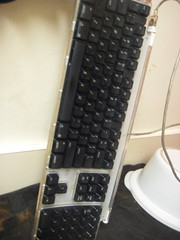 Keyboard vs. Dishwasher - prep