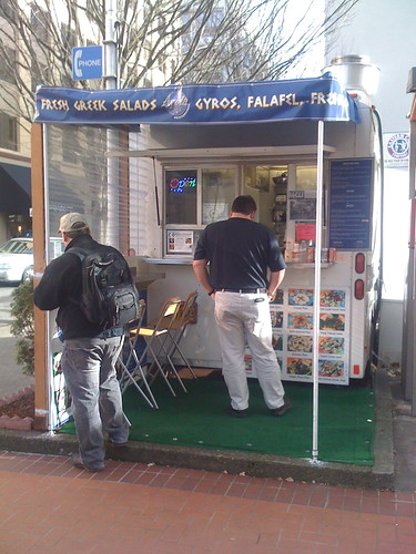 mediterranean food cart portland