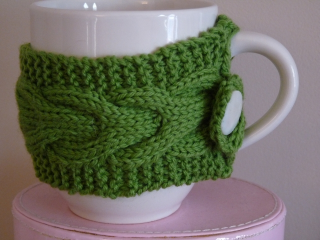 Knits And Knots Knit Teacup Cozy