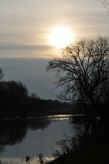 Hazy... (Chris H#) Tags: winter light shadow cold wet water sunshine afternoon cloudy bedfordshire chilly hazy s3000 riverouse shadowlight sooc afternoonsunshine nikond5000 haroldodellcountrypark