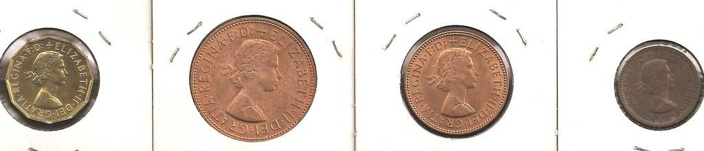 New Zealand 1971-5 Cents Copper-Nickel Coin Queen Elizabeth II Tuatara #1