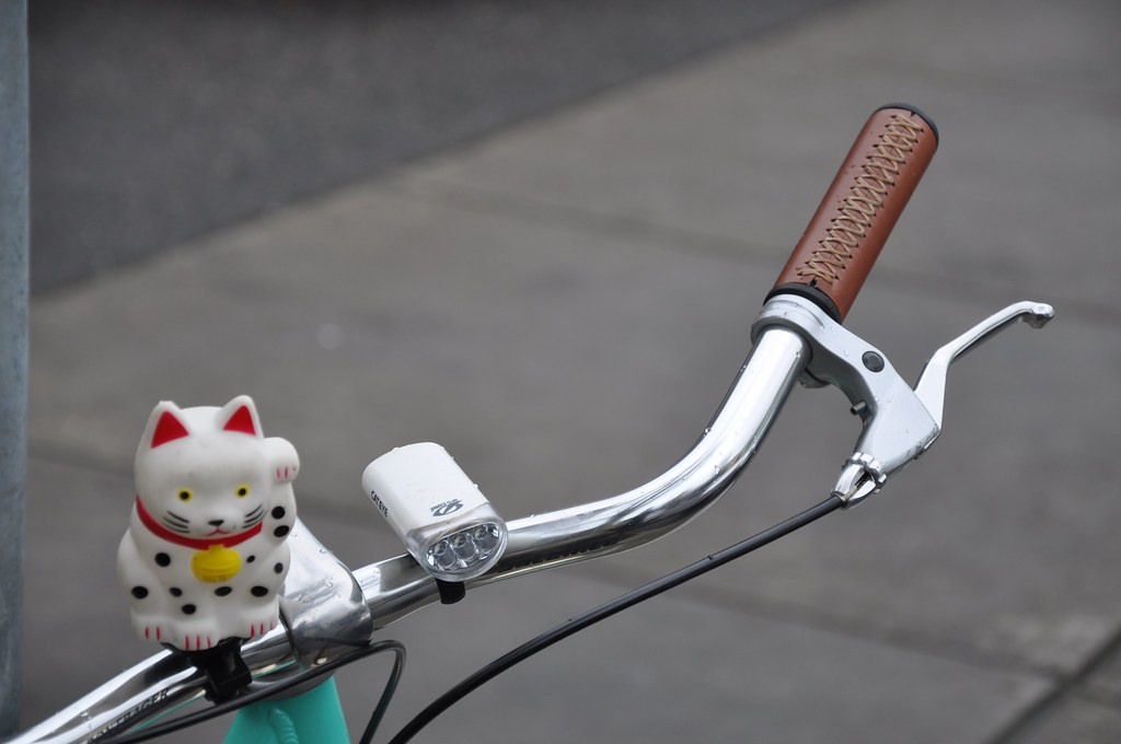 Hello Kitty on Bicycle