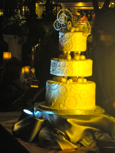 Here the couple cut the Disney wedding cake complete with hidden Mickey 39s