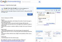 Google Voice Extension for Chrome