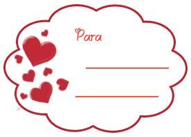 imprimir tarjetas del dia de los enamorados san valentin