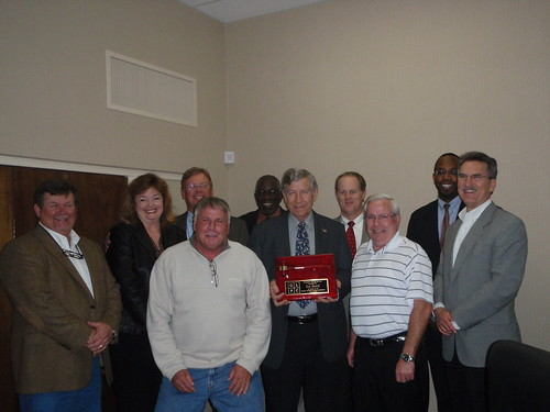 Retiring Chair with Planning Commission
