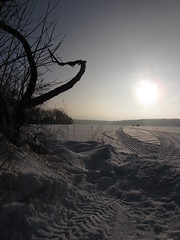 IMG_2338 (PhilomenaPhotography) Tags: winter lake snow ice sunshine wisconsin frozen fishing icefishing snowmobiling wisconsinwinter