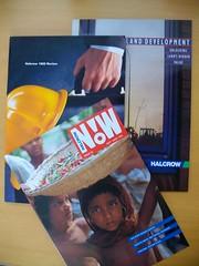 1990s construction marketing literature (EEPaul) Tags: magazine marketing construction literature brochure 1990s halcrow