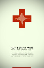 Haiti (jon_mutch) Tags: party scale poster haiti aid benefit richter