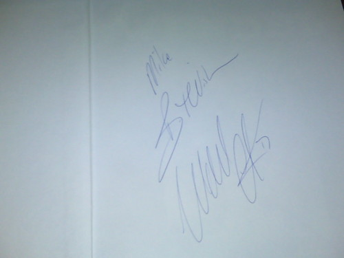 Wendel Clark's Autograph