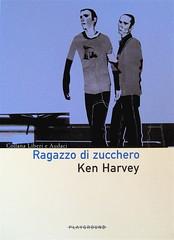 ken harwey, ragazzo di zucchero, playground 2005, progetto grafico: giovanna durì; alla cop.: ©onze (part.), 2