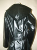 DSCF1252 (www.suziehigh.co.uk) Tags: black rain mac shiny coat rubber cotton raincoat rainwear sbr rubberized rubberised