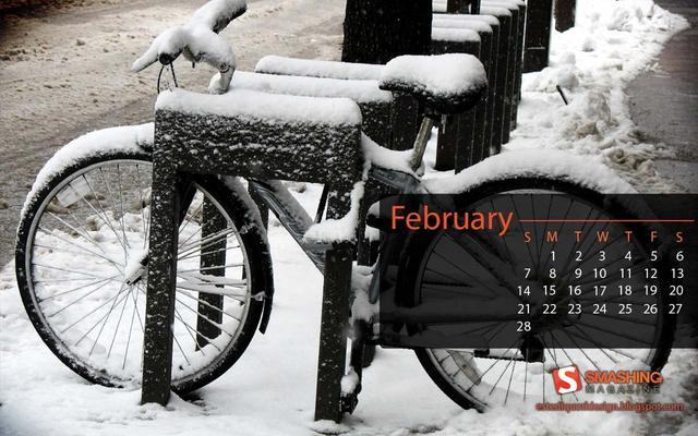 2010년 2월 배경화면