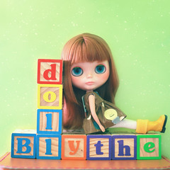 33/365 | B is for Blythe doll