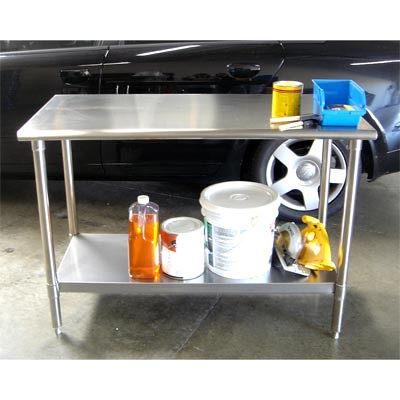 trinity stainless steel work table