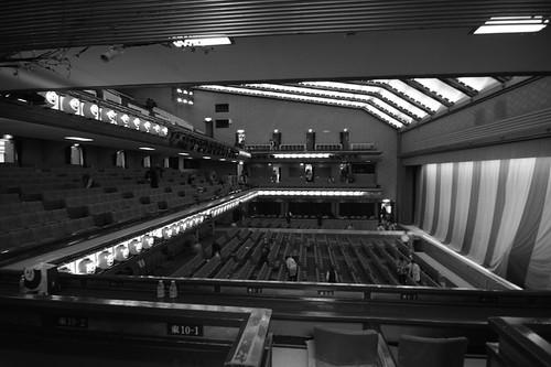 歌舞伎座*二階東view