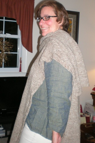 Ruana Knitting Pattern Patterns Gallery