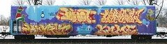 Kamit/Dwot/Same/Myst (quiet-silence) Tags: railroad art train graffiti railcar same graff freight reefer pos myst fr8 tbv kamit coldtrain dwot nrdx nrdx13310