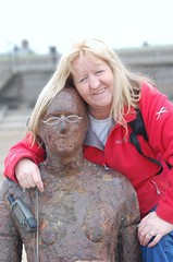 lost a few pounds and a lorra hair since this pic (Lolls Marshall) Tags: anthonygormley anotherplace croston