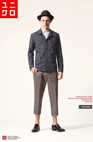 UNIQLO 0239_LOOK BOOK 2010 SPRING_Jakob Hybholt