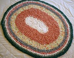 Toothbrush rug . Brights