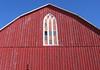 Barn Window ~ Rosemont, Ontario (Sally E J Hunter) Tags: winter red snow ontario window barn redblue moo1 newtecumseth sheldonvalley