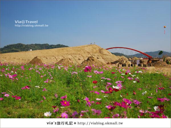 【2010春節旅遊】春節假期~南投市貓羅溪沙雕藝術節20