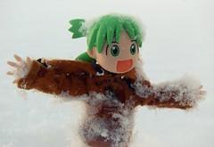 Snow! (Yoshi Gizmo) Tags: girl toy japanese doll figure collectable yotsuba revoltech