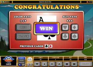 free Jolly Jester gamble bonus game