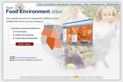 Your food Environment Atlas Screenshot