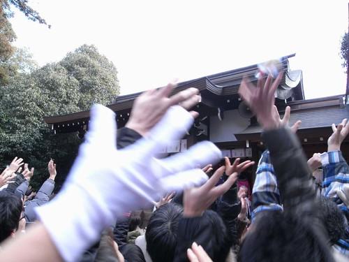 飛鳥坐神社(おんだ祭)@明日香村-15