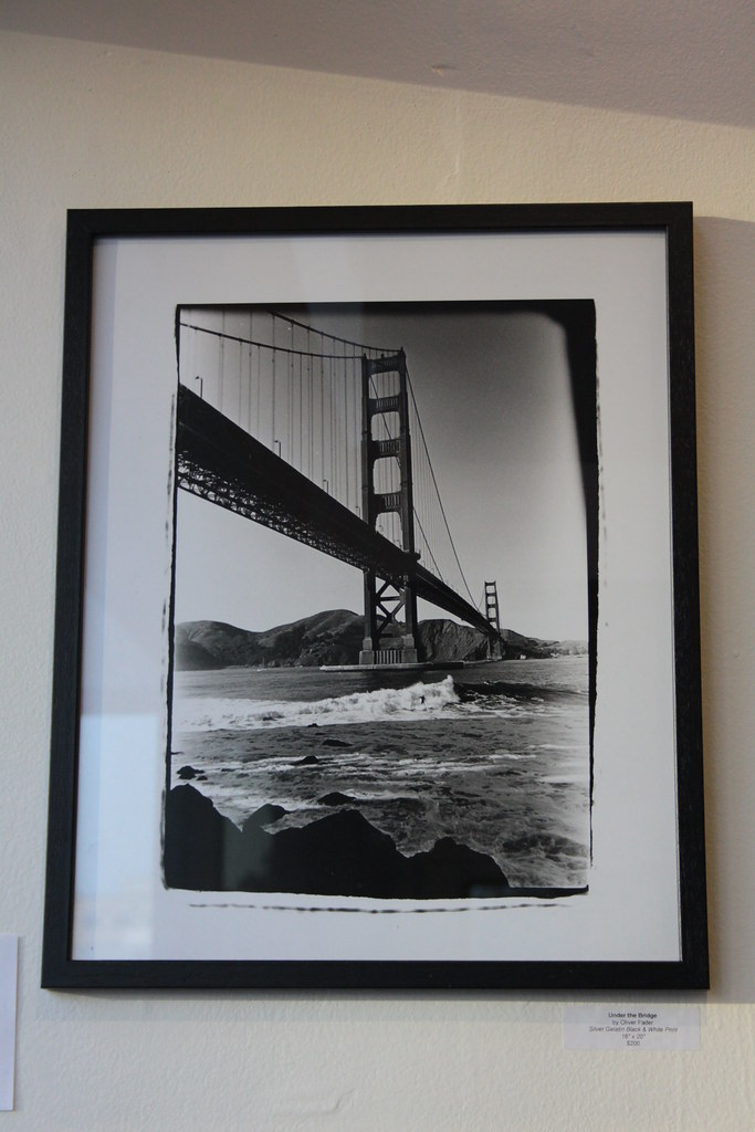Under the Bridge by Oliver Fader - SOLD