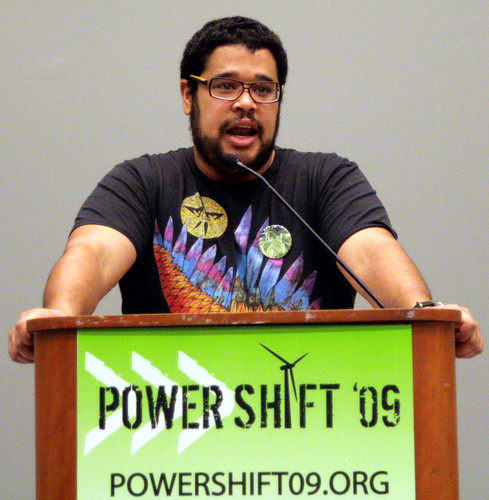 Julian McQueen speaks at PowerShift '09 Conference