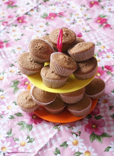 cupcakes met speculaaskruiden