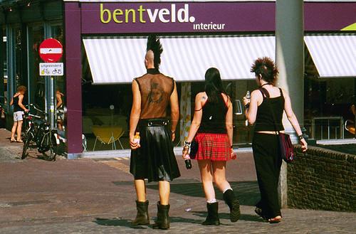 Punkis Leiden Holanda