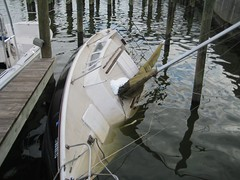 ruh-row this can't be good (hankenstein) Tags: boat sailing sink baltimore