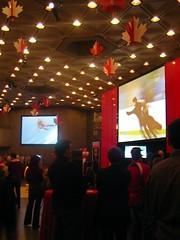 Olympics on big screen at NAC
